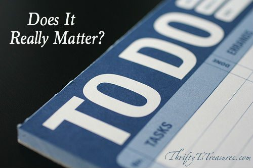 does it really matter