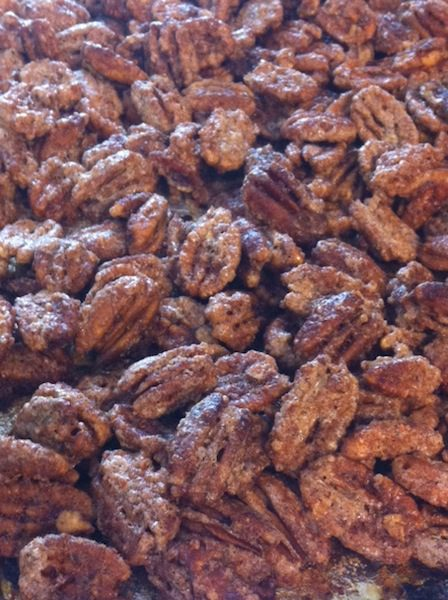 5 Ingredient Sugared Pecans