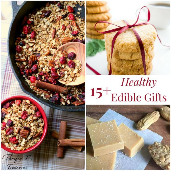 I don't know about you but I love receiving homemade Christmas gifts. These healthy edible gifts are perfect for the families and friends on your list. Learn how to make these easy recipes - I've mixed it up with baked goods, gifts in a jar, and much more!