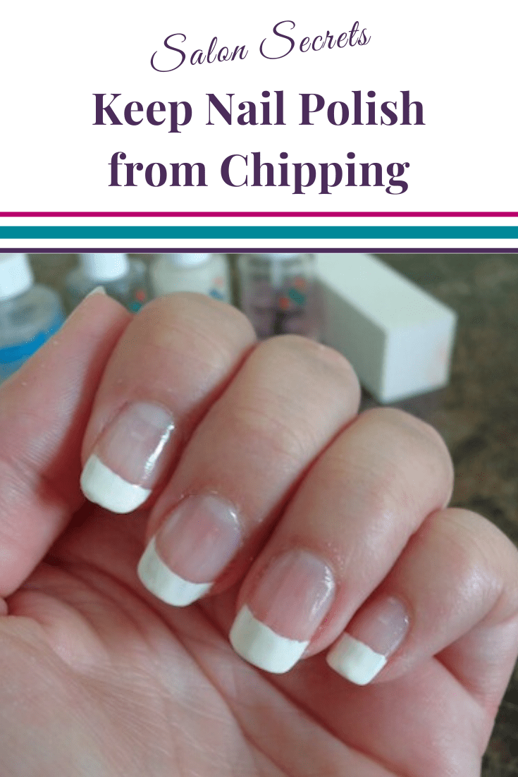 nails with French manicure